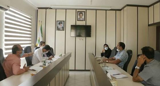 نخستین نشست شورای شهر شیرود با سرپرست شهرداری برگزار شد
